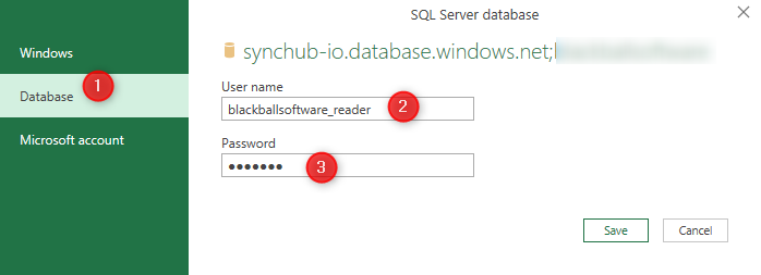 Connect to Sql Server Database